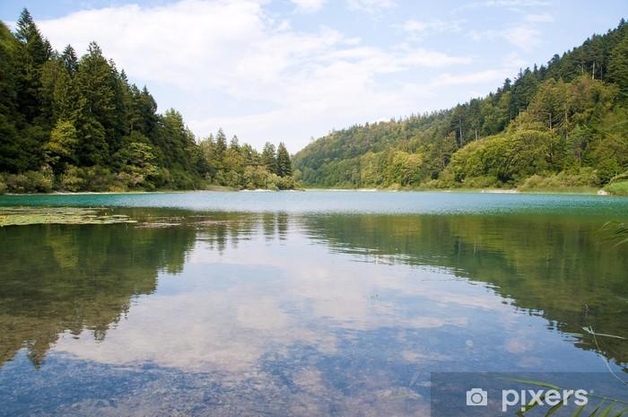 Vinilo Pixerstick Lago di Lamar - Europa
