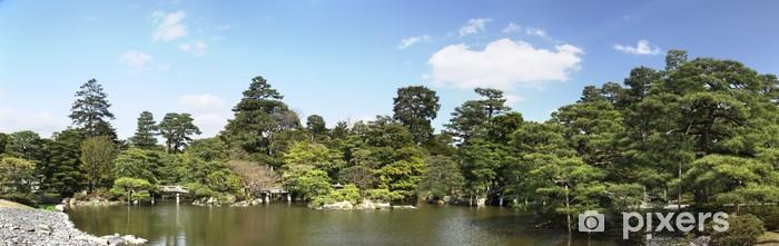 Papier peint vinyle Panorama de jardin à Kyoto - Asie