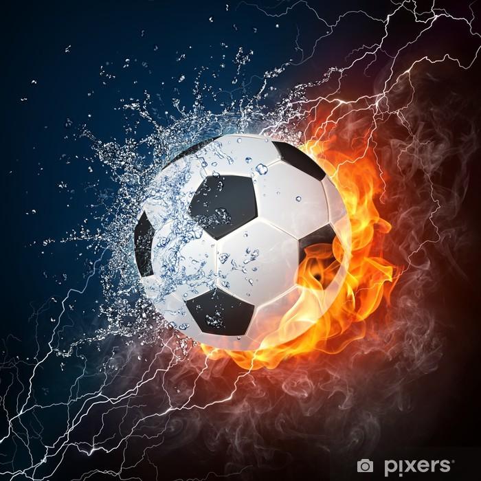 Soccer Ball Vinyl Wall Mural -