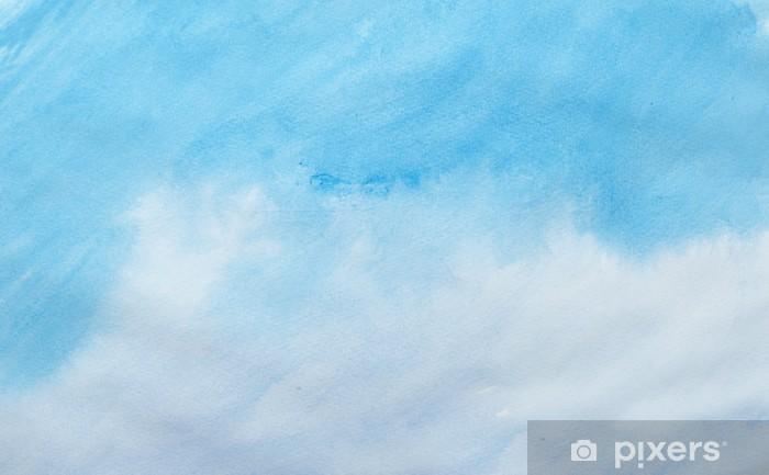 Fototapeta zmywalna Kolor gładzi akwareli sztuki - Edukacja