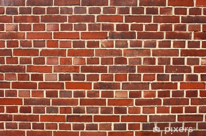 Sticker Pixerstick Wall brick - Thèmes