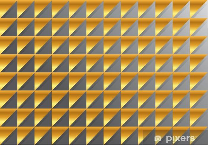 Papier peint vinyle Fond_Triangle OU - Concepts