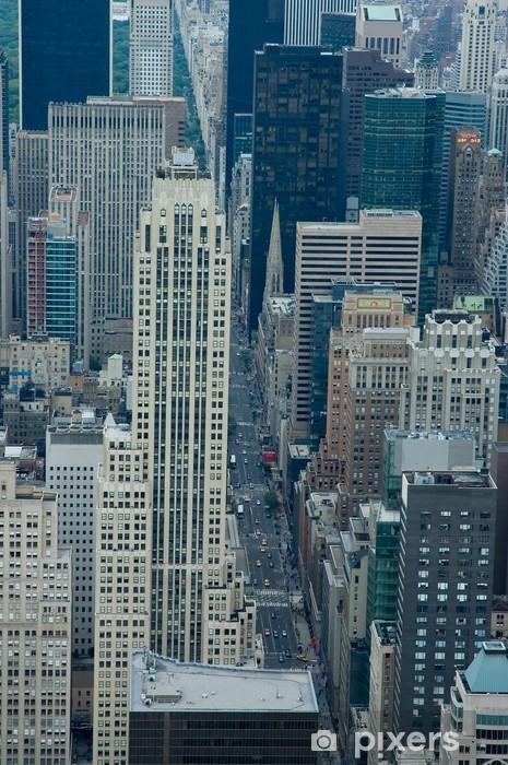 Nálepka Pixerstick 5th Avenue - Americká města