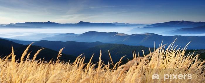 Syksy vuorella Vinyyli valokuvatapetti -