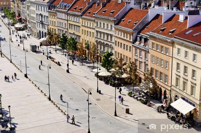 Vinylová fototapeta Staré město ve Varšavě - Vinylová fototapeta