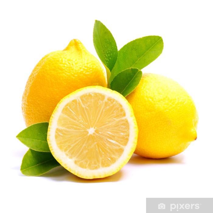 Fototapeta winylowa Cytryny - Owoce