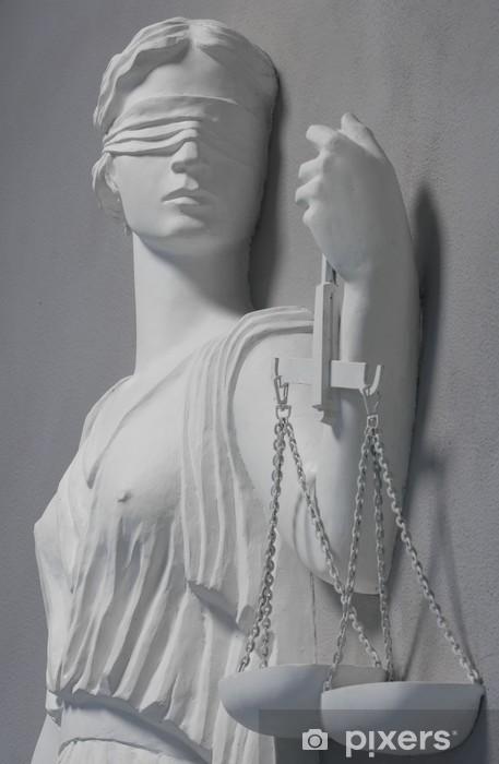Fotomural Estándar Justicia estatua -