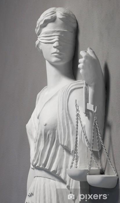 Fotomural Estándar Justicia estatua - Justicia