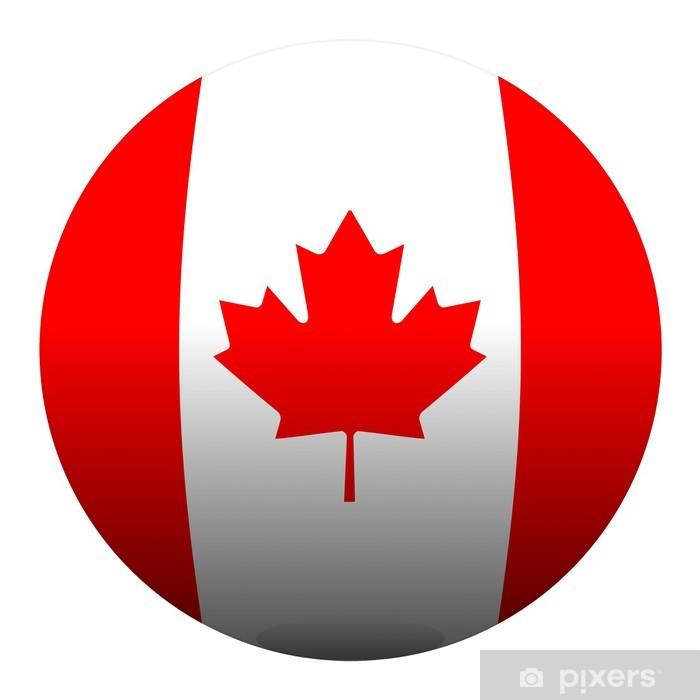 Plakát Boule Kanada míč drapeau vlajky - Amerika