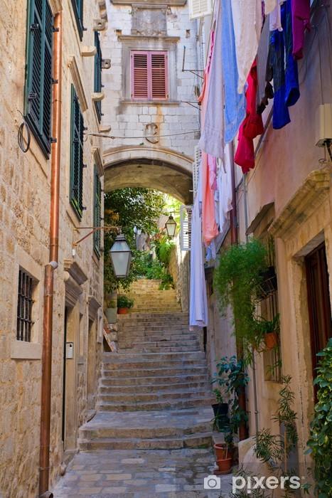 Fotomural Estándar Calle en Dubrovnik - Europa
