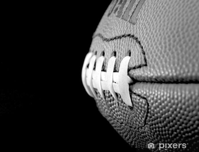 Sticker Pixerstick Ballon de football - Football Américain