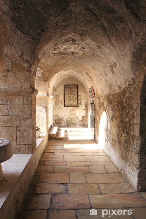 Naklejka Pixerstick Starożytny Alley w dzielnicy żydowskiej, Jerozolima, Izrael - Tematy