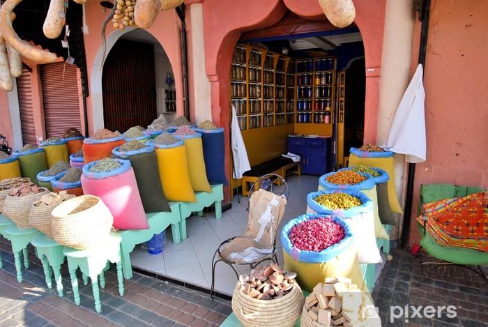 Papier peint vinyle Commerce à Marrakech - Vacances