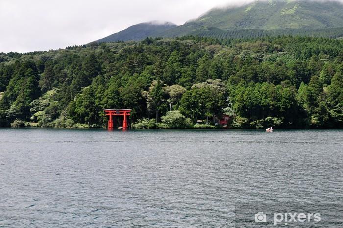 Vinyl-Fototapete Lac ashi 2 - Asien