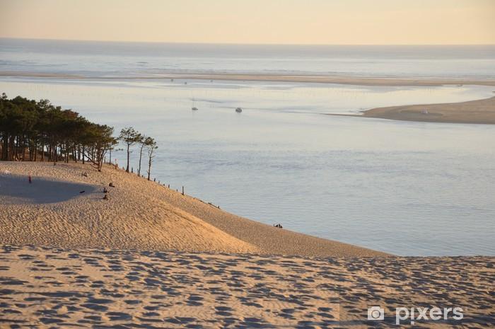 Papier peint vinyle Coucher de soleil sur la dune du pyla 12 - Vacances