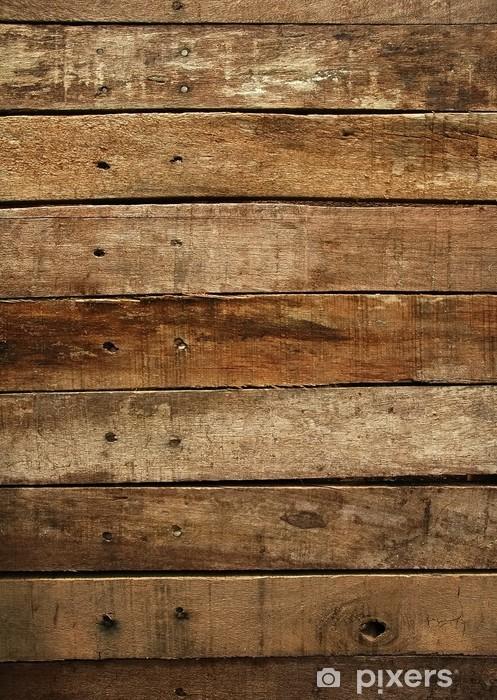 Fototapeta winylowa Stare drewniane deski w tle - Tematy