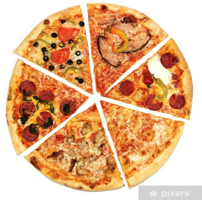 Nálepka Pixerstick Pizza pozadí - Jídla