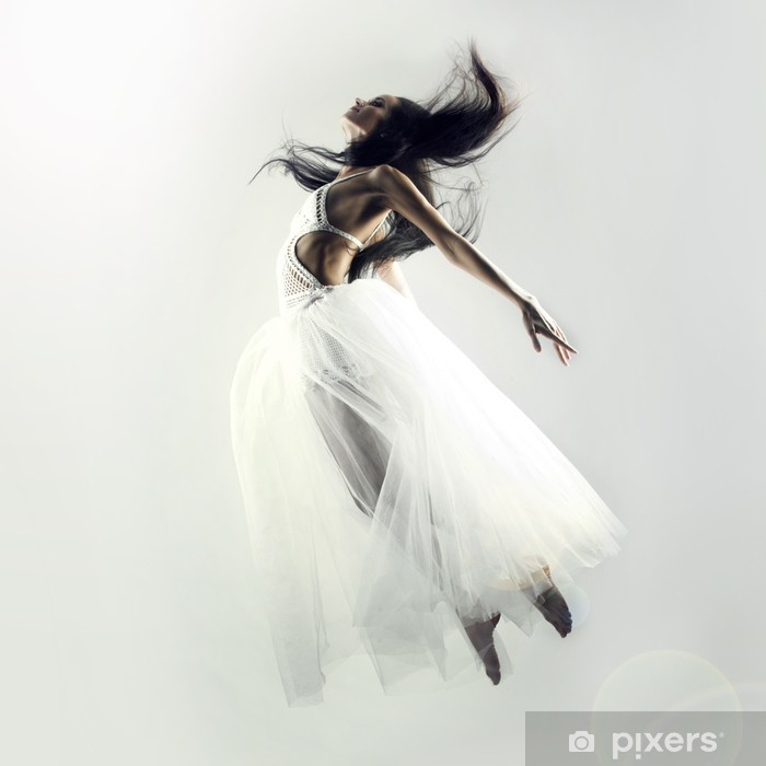 Vinyl-Fototapete Fairy flying Mädchen - Beauty und Körperpflege