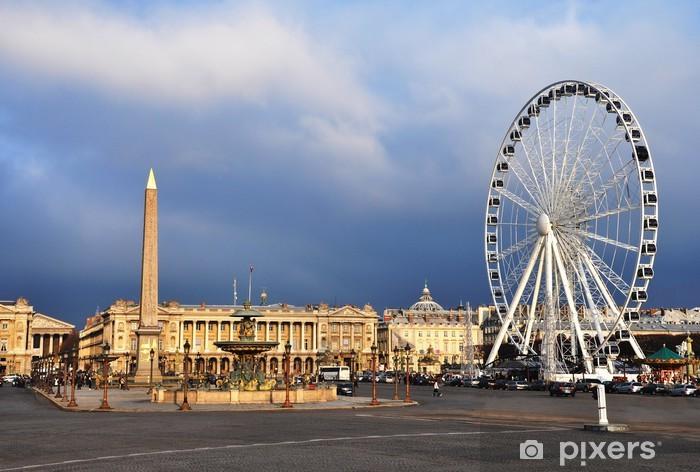 Vinyl-Fototapete Die Concorde-Platz - Europäische Städte