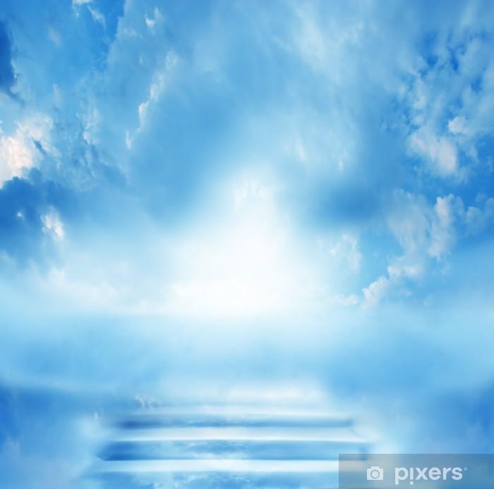 Plakat Schody w niebo - Niebo