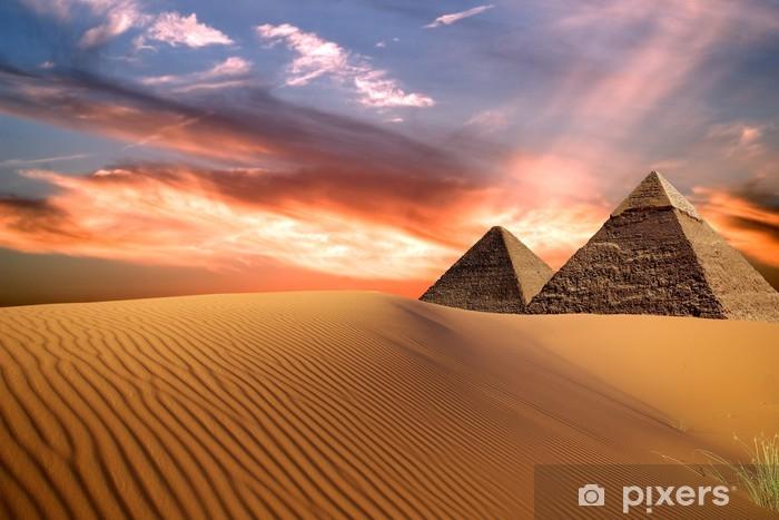 Naklejka Pixerstick Egipt -