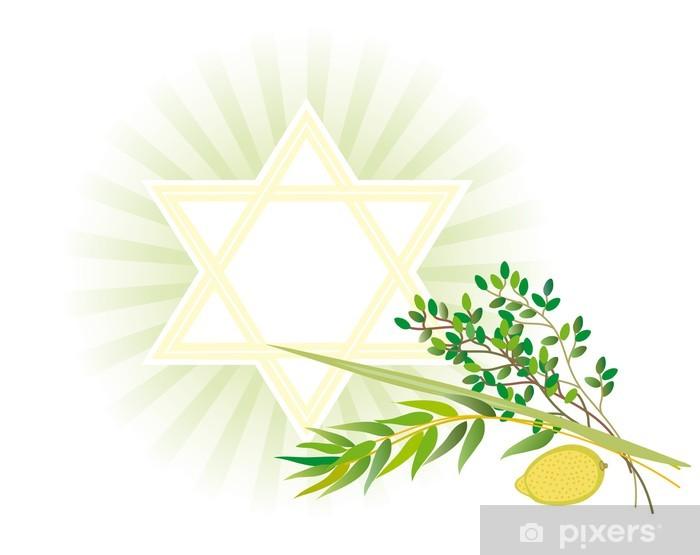 Fotomural Fiesta judía de Sucot vacaciones • Pixers® - Vivimos para ...