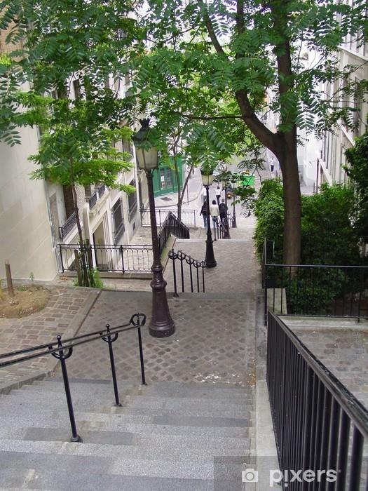 Papier peint vinyle Montmartre par jour2 - Vacances