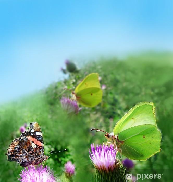 Naklejka Pixerstick Trzy motyle - Inne Inne