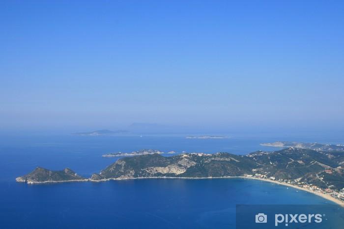 Naklejka Pixerstick Agios Georgios, Korfu, Grecja - Europa