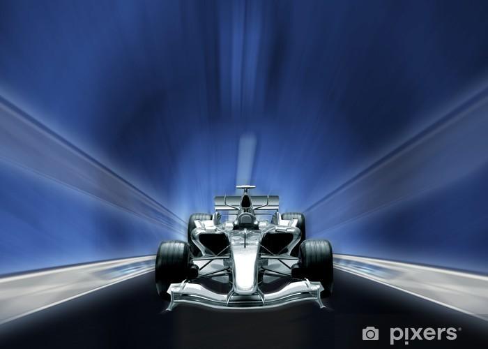 Papier peint vinyle Formule un, concept de vitesse - Thèmes