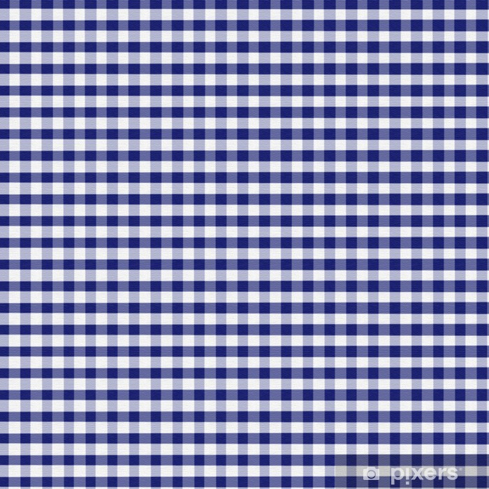 Papier Peint Vichy Bleu
