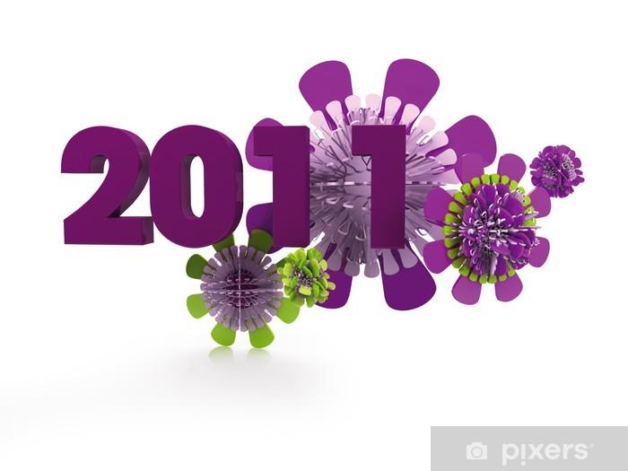 Fototapeta winylowa CARTE-DE-VOEUX Violette - Święta międzynarodowe
