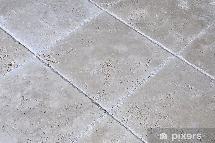 Adesivo travertino pavimento di piastrelle u pixers viviamo per