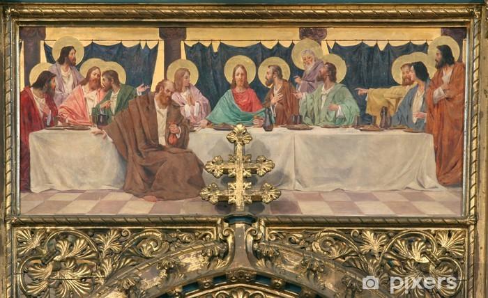 Naklejka Pixerstick Ostatnia Wieczerza - Jezus Chrystus