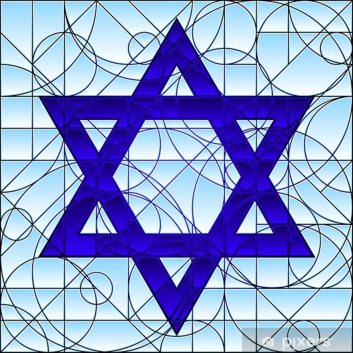 Poster en cadre Étoile de david - Esotérisme