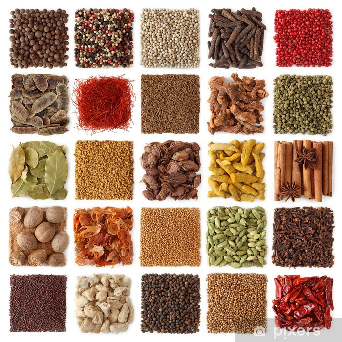 Poster Indiska Kryddor Insamling Pixers Vi Lever For Forandring