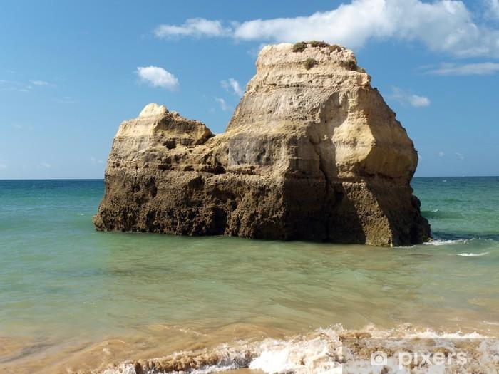 Papier peint vinyle Plage de Praia da Rocha à Portimao, Algarve, Portugal - Vacances