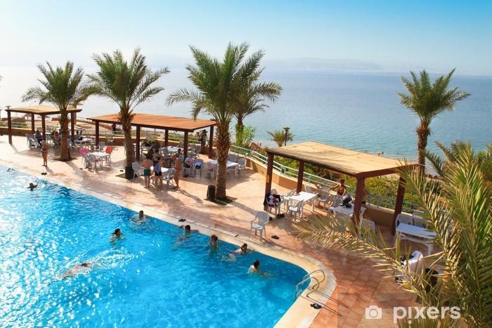Vinyl-Fototapete Amman Beach, Totes Meer, Jordanien - Asien