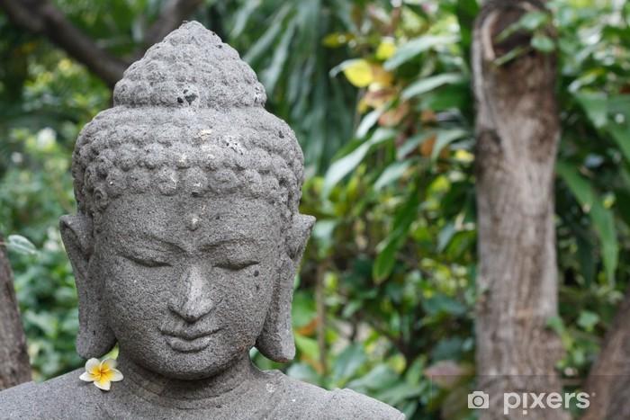 Papier peint vinyle Bouddha chiffre - Thèmes
