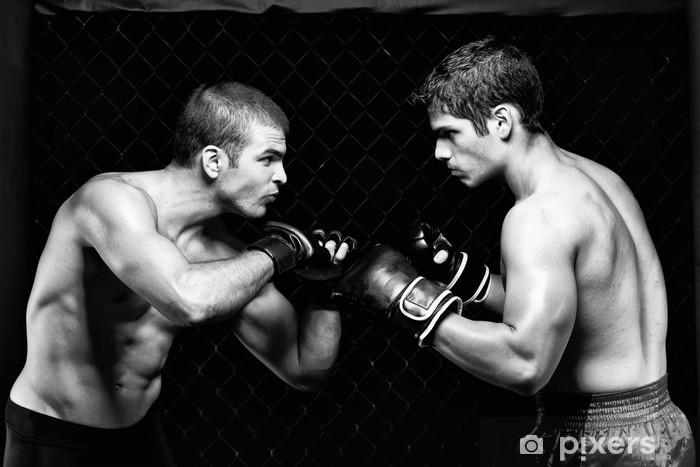 Naklejka Pixerstick MMA - Mixed Martial artystów przed walka - Tematy