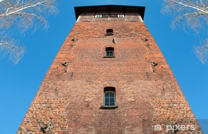 Nálepka Pixerstick Alter Wasserturm Lüneburg - Památky