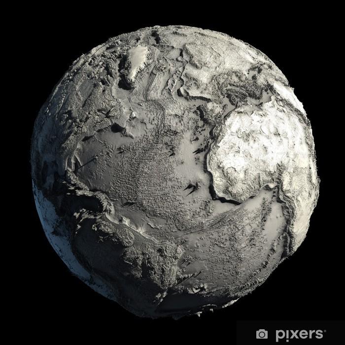 Vinylová fototapeta Planeta Země mrtvých - Vinylová fototapeta