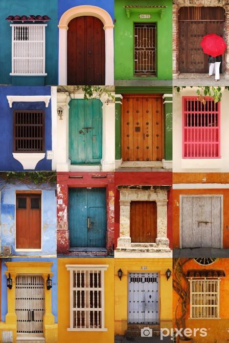 Fotomural Estándar Puertas de Cartagena, Colombia - América