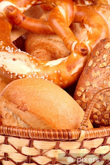 Nálepka Pixerstick Chléb - Rýže