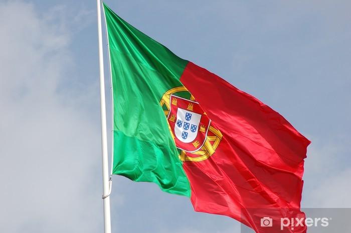 Nálepka Pixerstick Vlajka portugalsko vlajka - Móda