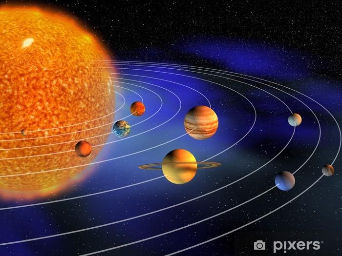 Naklejka Pixerstick Układ Słoneczny - Znaki i symbole