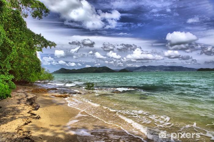 Naklejka Pixerstick Morze krajobraz, Tajlandia - Woda