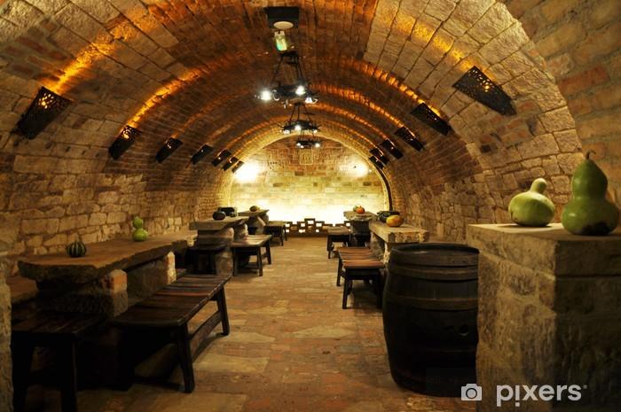 Fototapeta winylowa Wino archiv -