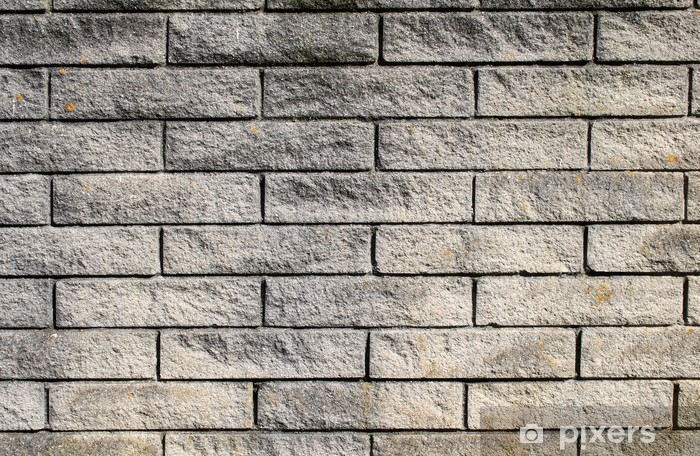 Carta Da Parati Moderna Texture.Carta Da Parati Moderna Muro Di Mattoni Grigi Di Sfondo Pixers
