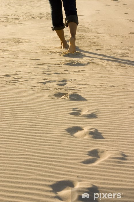 Fotomural Estándar Footprints - iStaging